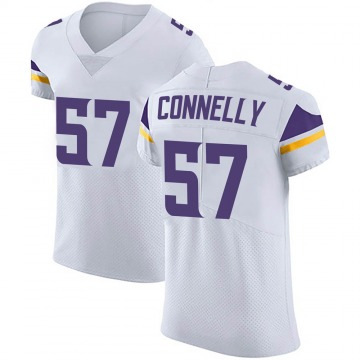 Men's Nike Minnesota Vikings Ryan Connelly White Vapor Untouchable Jersey - Elite