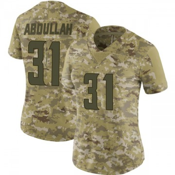 Women's Nike Minnesota Vikings Ameer Abdullah Camo 2018 Salute to Service Jersey - Limited