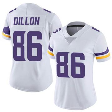 Women's Nike Minnesota Vikings Brandon Dillon White Vapor Untouchable Jersey - Limited