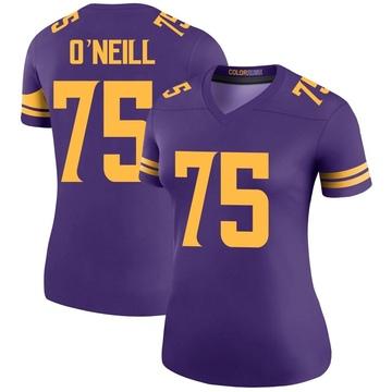 Women's Nike Minnesota Vikings Brian O'Neill Purple Color Rush Jersey - Legend