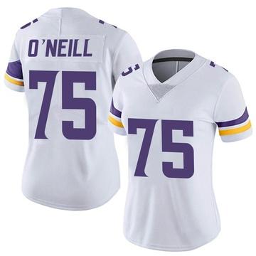 Women's Nike Minnesota Vikings Brian O'Neill White Vapor Untouchable Jersey - Limited