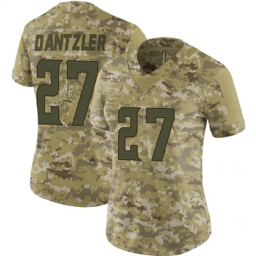 Women's Nike Minnesota Vikings Cameron Dantzler Camo 2018 Salute to Service Jersey - Limited