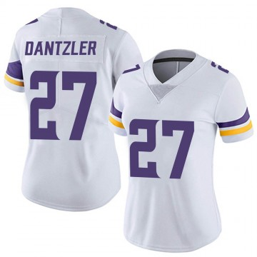 Women's Nike Minnesota Vikings Cameron Dantzler White Vapor Untouchable Jersey - Limited