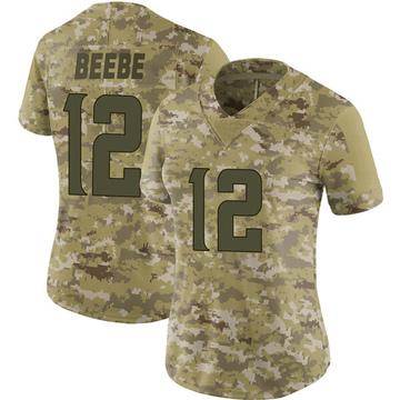 Women's Nike Minnesota Vikings Chad Beebe Camo 2018 Salute to Service Jersey - Limited