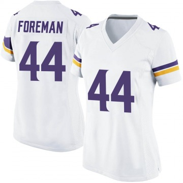 Women's Nike Minnesota Vikings Chuck Foreman White Jersey - Game