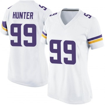 Women's Nike Minnesota Vikings Danielle Hunter White Jersey - Game