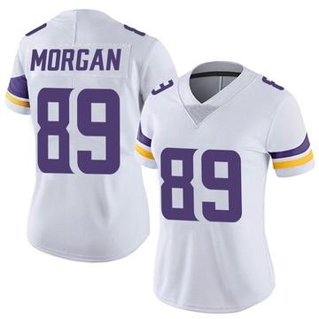Women's Nike Minnesota Vikings David Morgan White Vapor Untouchable Jersey - Limited