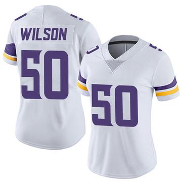 Women's Nike Minnesota Vikings Eric Wilson White Vapor Untouchable Jersey - Limited