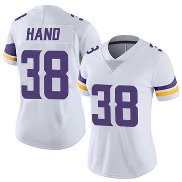 Women's Nike Minnesota Vikings Harrison Hand White Vapor Untouchable Jersey - Limited