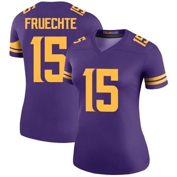 Women's Nike Minnesota Vikings Isaac Fruechte Purple Color Rush Jersey - Legend
