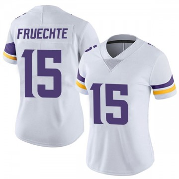 Women's Nike Minnesota Vikings Isaac Fruechte White Vapor Untouchable Jersey - Limited