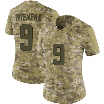Women's Nike Minnesota Vikings Jake Wieneke Camo 2018 Salute to Service Jersey - Limited