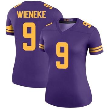 Women's Nike Minnesota Vikings Jake Wieneke Purple Color Rush Jersey - Legend