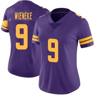 Women's Nike Minnesota Vikings Jake Wieneke Purple Color Rush Jersey - Limited
