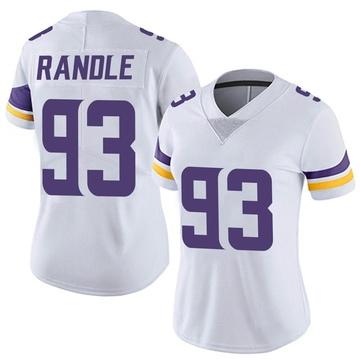 Women's Nike Minnesota Vikings John Randle White Vapor Untouchable Jersey - Limited