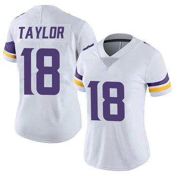 Women's Nike Minnesota Vikings Jordan Taylor White Vapor Untouchable Jersey - Limited