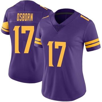 Women's Nike Minnesota Vikings K.J. Osborn Purple Color Rush Jersey - Limited