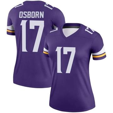 Women's Nike Minnesota Vikings K.J. Osborn Purple Jersey - Legend
