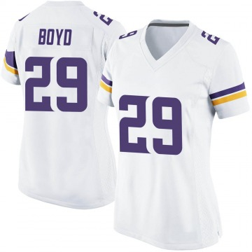 Women's Nike Minnesota Vikings Kris Boyd White Jersey - Game