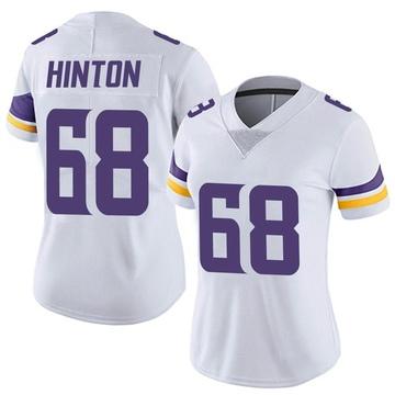 Women's Nike Minnesota Vikings Kyle Hinton White Vapor Untouchable Jersey - Limited