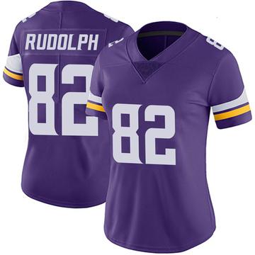 Women's Nike Minnesota Vikings Kyle Rudolph Purple Team Color Vapor Untouchable Jersey - Limited