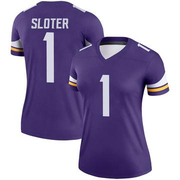 Women's Nike Minnesota Vikings Kyle Sloter Purple Jersey - Legend