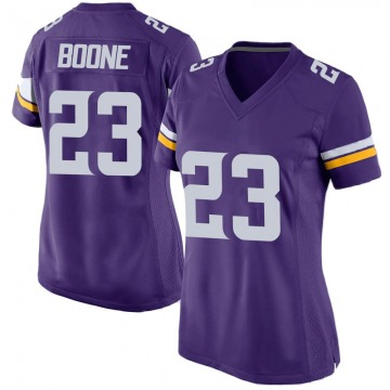 Women's Nike Minnesota Vikings Mike Boone Purple Team Color Jersey - Game
