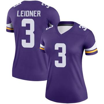 Women's Nike Minnesota Vikings Mitch Leidner Purple Jersey - Legend
