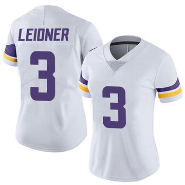 Women's Nike Minnesota Vikings Mitch Leidner White Vapor Untouchable Jersey - Limited