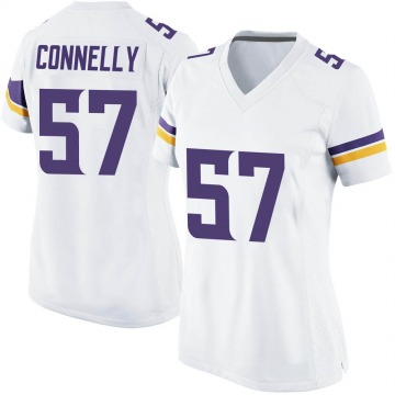 Women's Nike Minnesota Vikings Ryan Connelly White Jersey - Game
