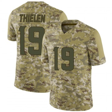 Youth Nike Minnesota Vikings Adam Thielen Camo 2018 Salute to Service Jersey - Limited