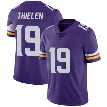 Youth Nike Minnesota Vikings Adam Thielen Purple 100th Vapor Jersey - Limited