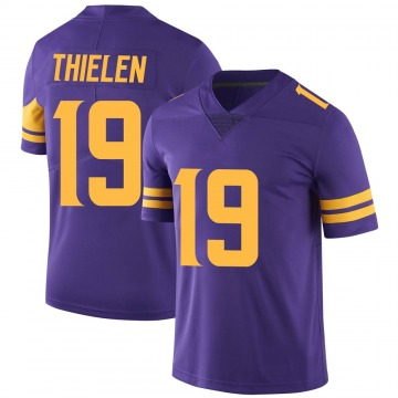 Youth Nike Minnesota Vikings Adam Thielen Purple Color Rush Jersey - Limited