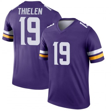 Youth Nike Minnesota Vikings Adam Thielen Purple Jersey - Legend