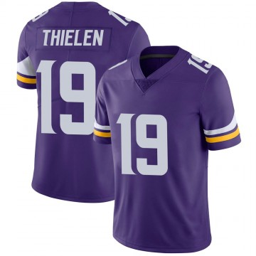 Youth Nike Minnesota Vikings Adam Thielen Purple Team Color Vapor Untouchable Jersey - Limited
