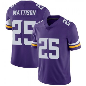 Youth Nike Minnesota Vikings Alexander Mattison Purple 100th Vapor Jersey - Limited