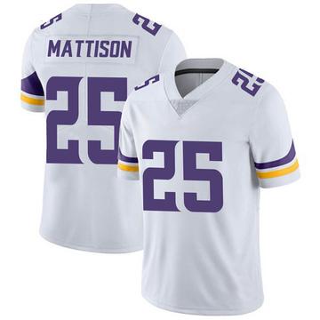 Youth Nike Minnesota Vikings Alexander Mattison White Vapor Untouchable Jersey - Limited