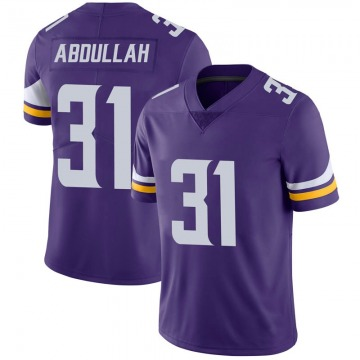 Youth Nike Minnesota Vikings Ameer Abdullah Purple 100th Vapor Jersey - Limited