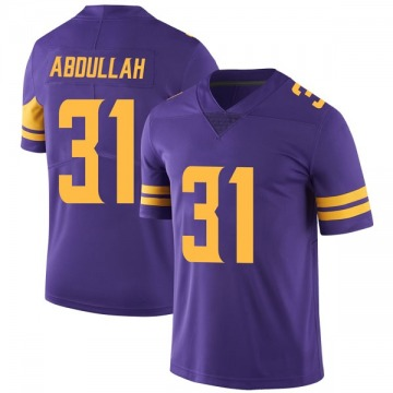 Youth Nike Minnesota Vikings Ameer Abdullah Purple Color Rush Jersey - Limited