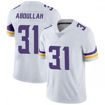 Youth Nike Minnesota Vikings Ameer Abdullah White Vapor Untouchable Jersey - Limited