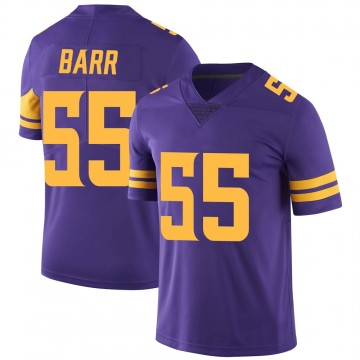 Youth Nike Minnesota Vikings Anthony Barr Purple Color Rush Jersey - Limited