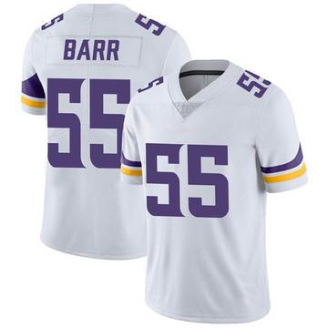 Youth Nike Minnesota Vikings Anthony Barr White Vapor Untouchable Jersey - Limited