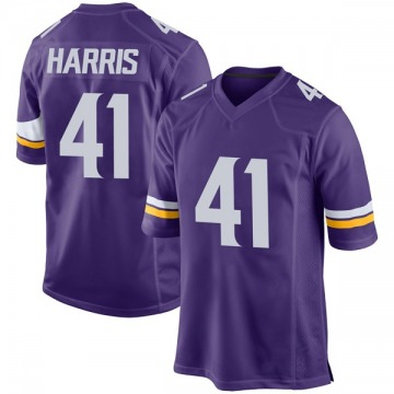 Youth Nike Minnesota Vikings Anthony Harris Purple Team Color Jersey - Game