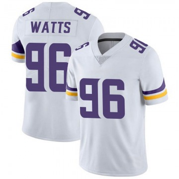 Youth Nike Minnesota Vikings Armon Watts White Vapor Untouchable Jersey - Limited
