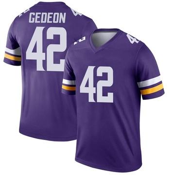 Youth Nike Minnesota Vikings Ben Gedeon Purple Jersey - Legend