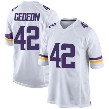 Youth Nike Minnesota Vikings Ben Gedeon White Jersey - Game