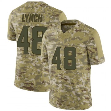 Youth Nike Minnesota Vikings Blake Lynch Camo 2018 Salute to Service Jersey - Limited