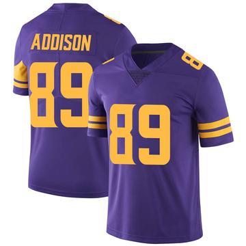 Youth Nike Minnesota Vikings Bralon Addison Purple Color Rush Jersey - Limited