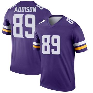 Youth Nike Minnesota Vikings Bralon Addison Purple Jersey - Legend