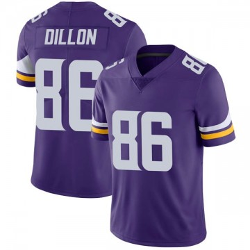 Youth Nike Minnesota Vikings Brandon Dillon Purple Team Color Vapor Untouchable Jersey - Limited